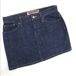 GAP Dark Wash Mini Skirt Size 2